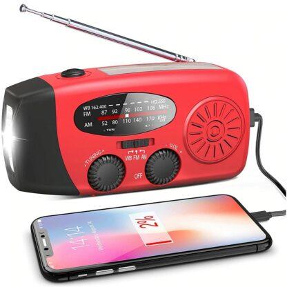 Powerbank solaire radio
