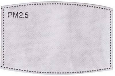 PM2.5 wiederverwendbaren Stoffmasken