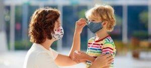 Masques en tissu pour enfants